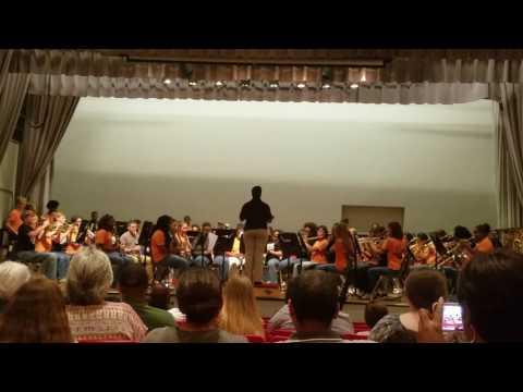Opelika Middle school beginner's band (Springs Concert)