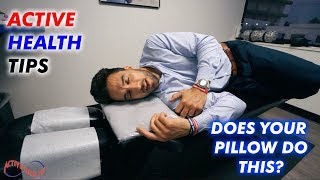 #ActiveHealthTips - WHAT PILLOW SHOULD I USE???