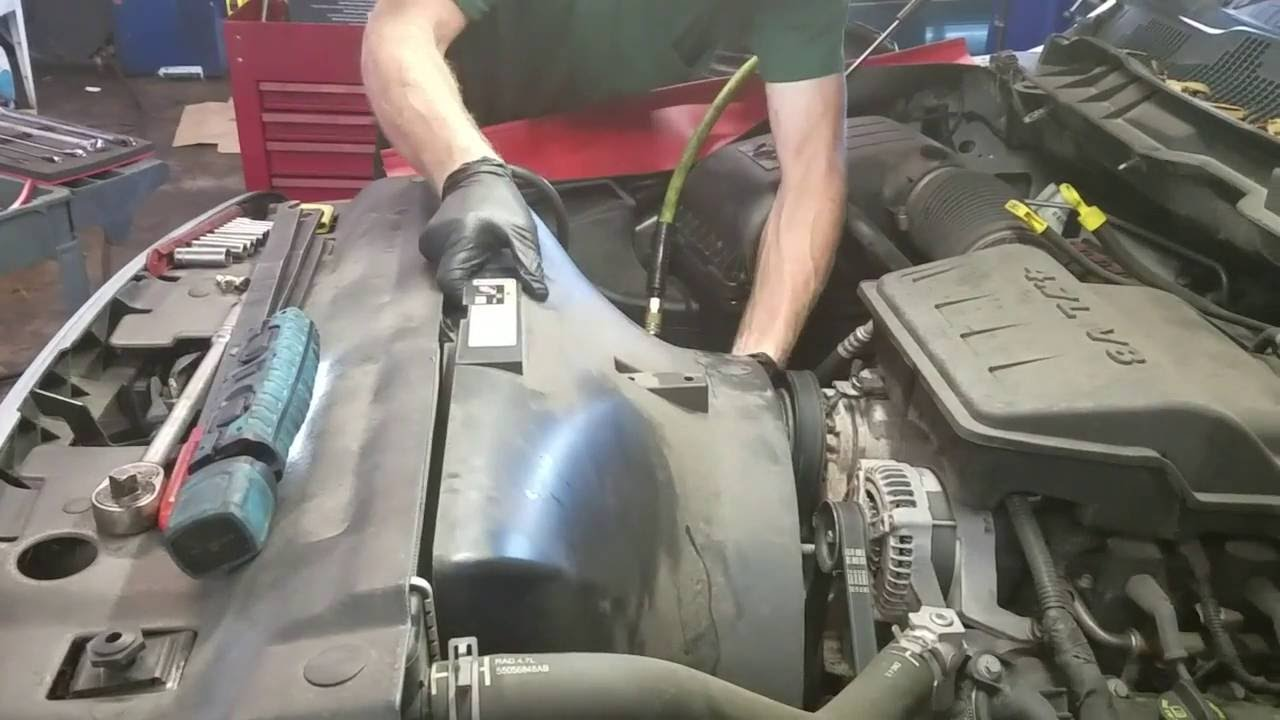 2002 dodge ram 1500 4 7l how to replace a water pump youtube