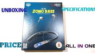 UNBOXING OF UBON CL25 ZONO BASS BLUETOOTH HEADPHONES