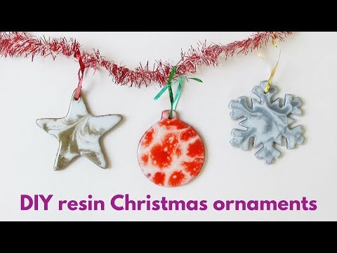 Resin Christmas Ornaments.How To Make Your Own Resin Christmas Ornaments Youtube