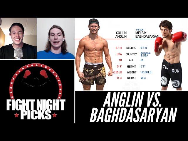 UFC Fight Night: Collin Anglin vs. Melsik Baghdasaryan Prediction