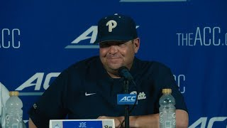 Baseball Post Game Press Conference ACC Championship vs  UNC