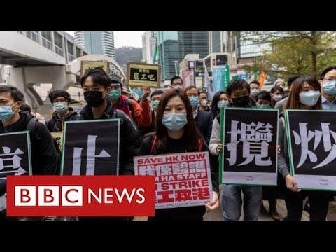 """China warns UK over Hong Kong """"interference"""" - BBC News"""