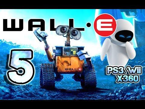 Wall E Walkthrough Part 5 Ps3 X360 Wii Level 5 Good