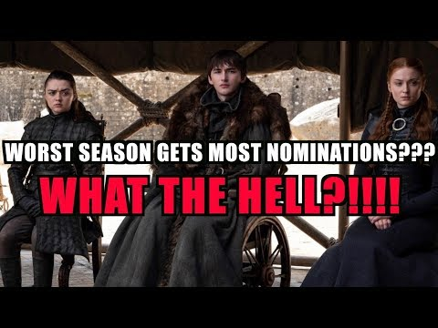 The TRASH Game of Thrones Season gets 32 EMMY NOMINATIONS???