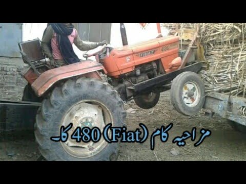 Funny Fiat 480 Tractor Moments Youtube