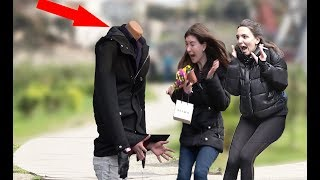 Headless Mannequin Scare Prank (Screaming Out Loud)