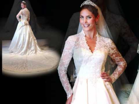 Kate middletons wedding dress lookalike coming soon youtube for Kate middleton wedding dress where to buy