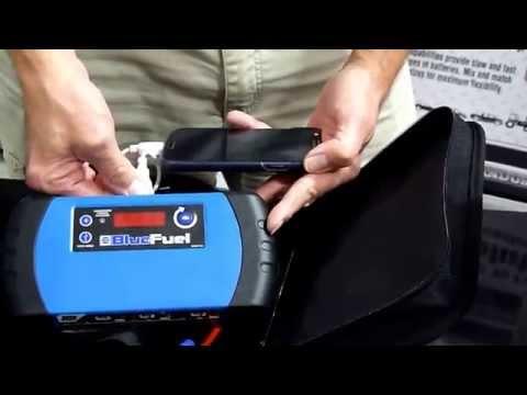 NAPA Lithium Iron Jump Starter - 85-901 Blue Fuel
