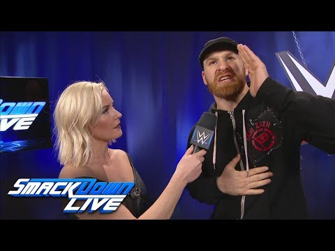 Sami Zayn blames Kevin Owens for his loss at WWE Fastlane: SmackDown LIVE, March 13, 2018