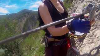 Klettern in Orpierre & Via Ferrata de la grande Fistoire