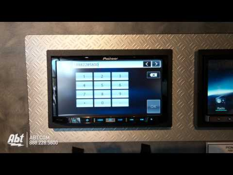 Pioneer AVIC-Z150BH In-Dash Navigation AV Receiver With Bluetooth : Pioneer At Abt Electronics