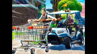 PROTECT THE CART! (Cart vs ATKs) Fortnite Playground Custome Game