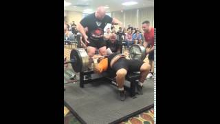 Joe Ladnier 550 Bench Press