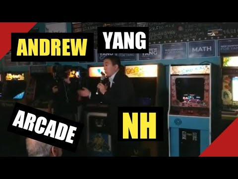 Andrew Yang Speech In The Arcade Manchester NH Livestream