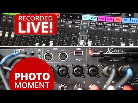 Behringer X AIR XR16 Digital Mixer Is Finally In My Live Broadcast Studio!