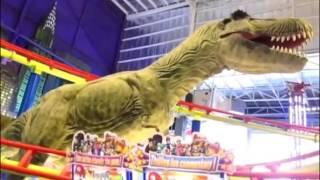 Robot Dinosaurus TransMart Carrefour Cempaka Putih |  KIDCITY : Dino In The City