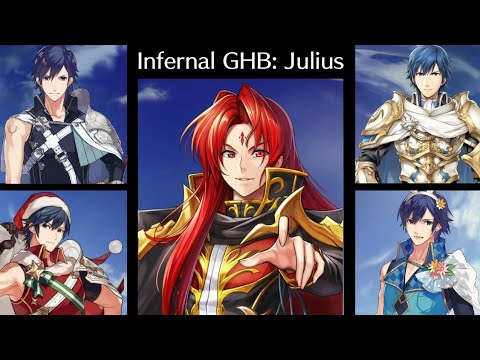Chrom Emblem vs Julius Infernal Grand Hero Battle - Fire Emblem Heroes