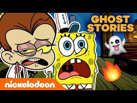 campfire-ghost-stories-👻-w/-spongebob-squarepants-&-the-loud-house-|-nick