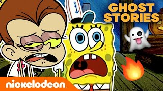 Campfire Ghost Stories 👻 w/ SpongeBob SquarePants & The Loud House | Nick