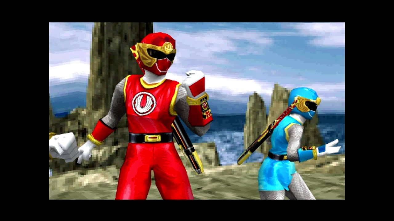 PSX Power Ranger Tempestade Ninja Parte 3
