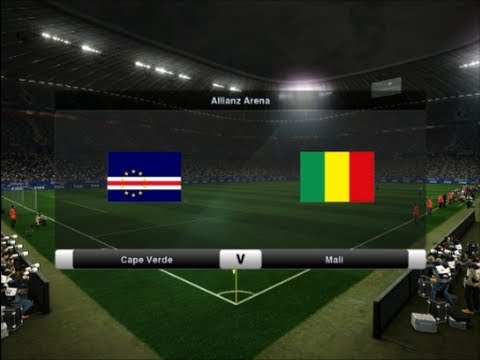 PES 2012 | Cape Verde - Mali | Africa Cup of Nations 2013 Semi-final