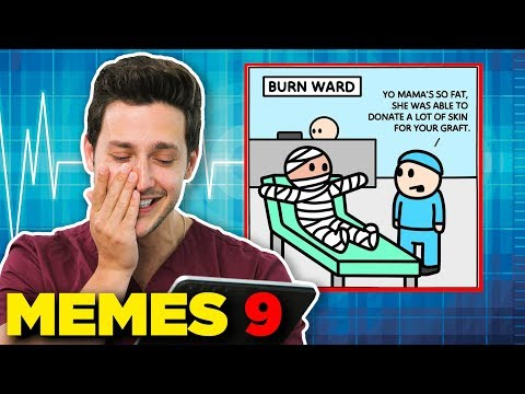 Doctor Reacts Medical Memes