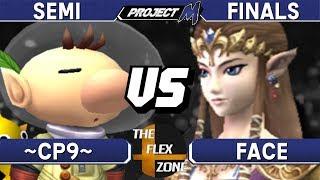 Project M - ~CP9~ (Olimar) vs Face (Zelda) - TFZ3 Amateur Semi Finals