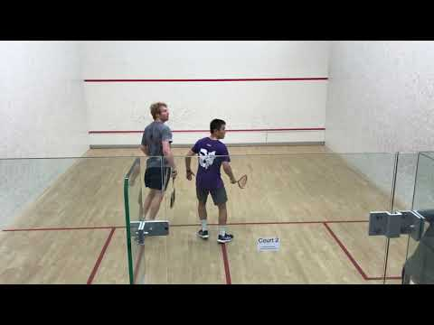 Cross court and boast routine - two shot three man