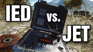 IED vs. Jet - Only in Battlefield 4 Moment