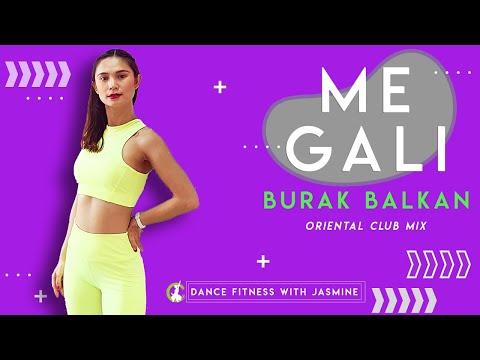 [Belly Dance Workout] 🌟Me Gali 🌟   Burak Balkan   Oriental   Zumba Dance Fitness  Choreo by Jasmine