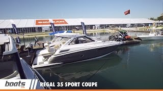 Regal 35 Sport Coupe: First Look Video