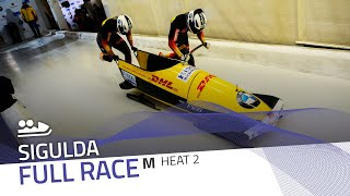 Sigulda | BMW IBSF World Cup 2020/2021 - 2-Man Bobsleigh Race 2 (Heat 2) | IBSF Official
