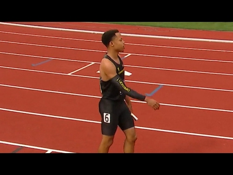 2017 NCAA Track & Field Championship: Oregon 4x100m squad sets school record