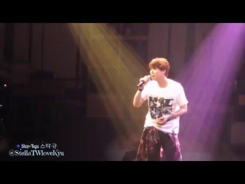 [Fancam] 160412 Knick Knack concert in Fukuoka - Kyuhyun Celebration