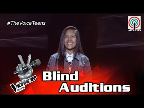 The Voice Teens Philippines Blind Audition: Genesis Espera - Closer