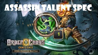 Assassin Talent Spec (Pin Feet Build): In depth Discussion Order and Chaos Online 2.7.0