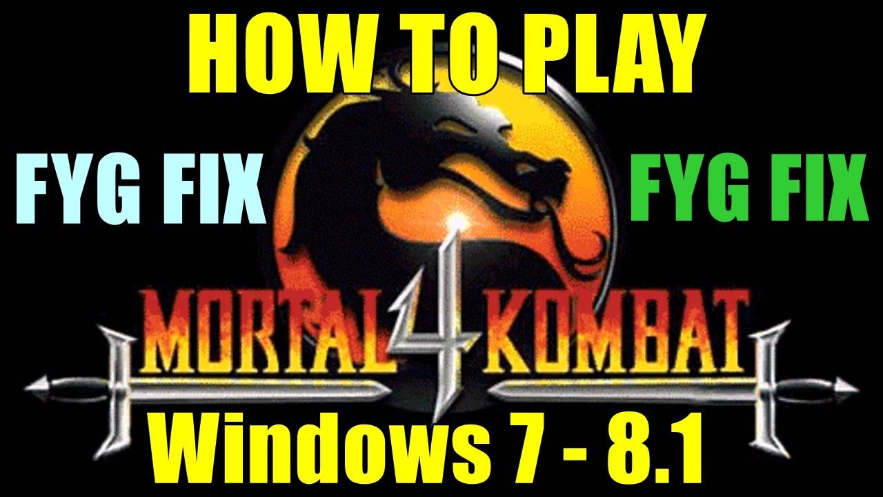 Download mortal kombat 4 (windows) my abandonware.
