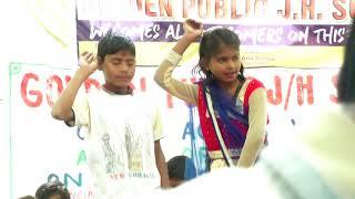 Gambar cover Mere Sasur ne baag lagayo re,lelo lelo re anar dance cover children's performance