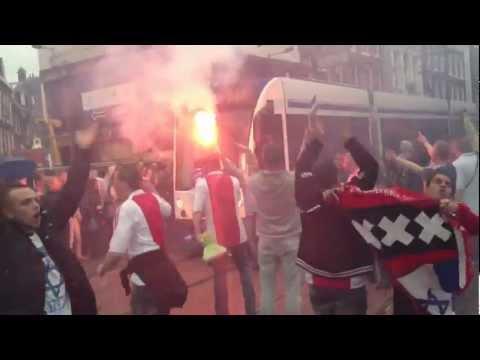 Rembrandtplein gaat los na Twente-Ajax 29-4-12.