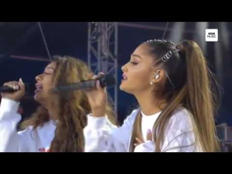 Ariana Grande & Victoria Monet - Better Days (Live at One Love Manchester)