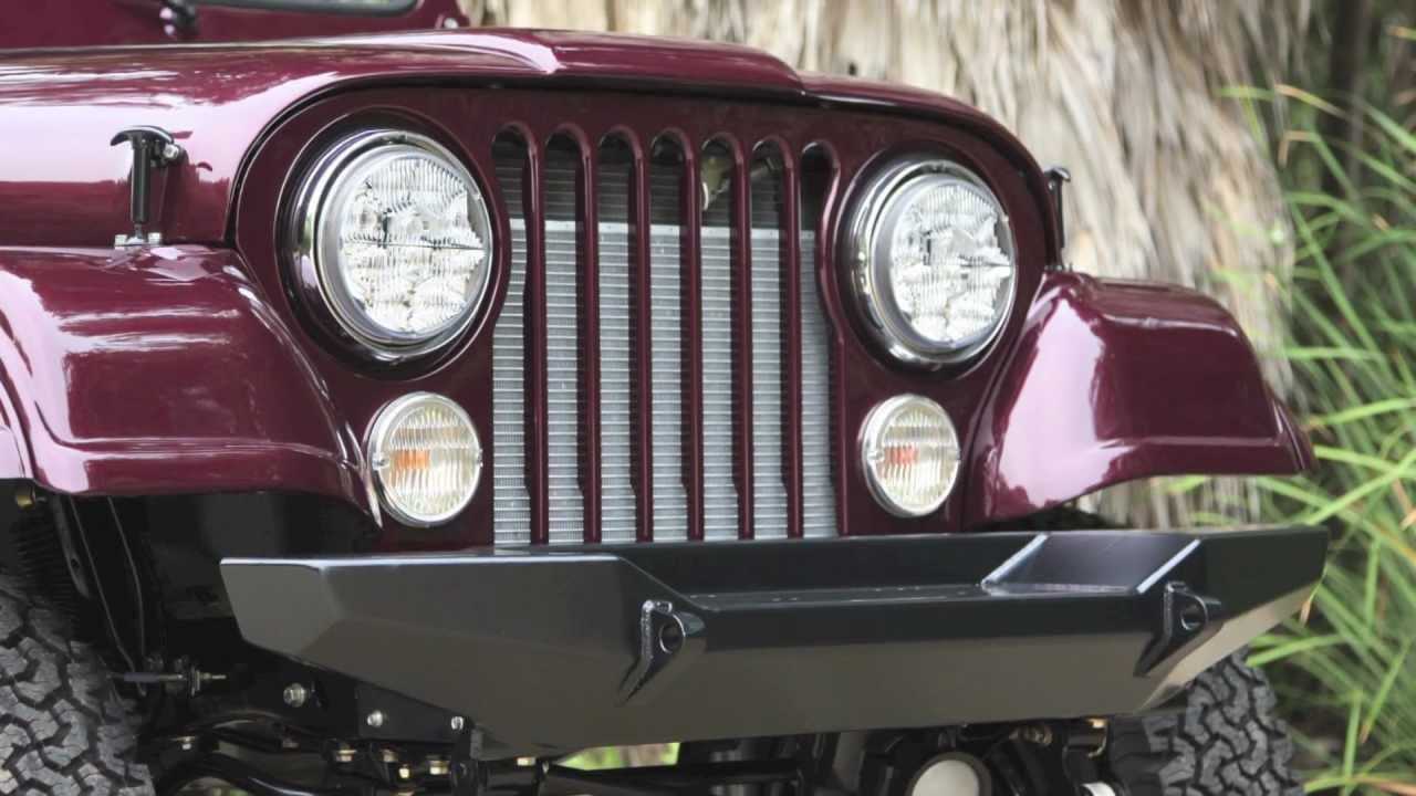 Icon Reformer Custom Jeep Cj7 For Sale