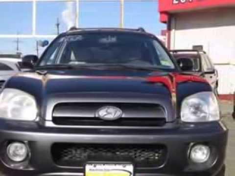 2005 Hyundai Santa Fe GLS SUV - NJ NY Auto Auction -- Jersey City, NJ