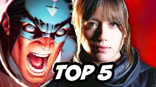 Marvel Agents Of SHIELD Season 2 Episode 11 - TOP 5 WTF
