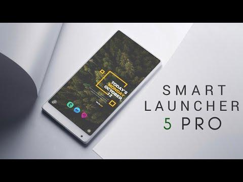 Smart Launcher 5 PRO Setup 2019   CUSTOM HOMESCREEN   UPDATED JULY