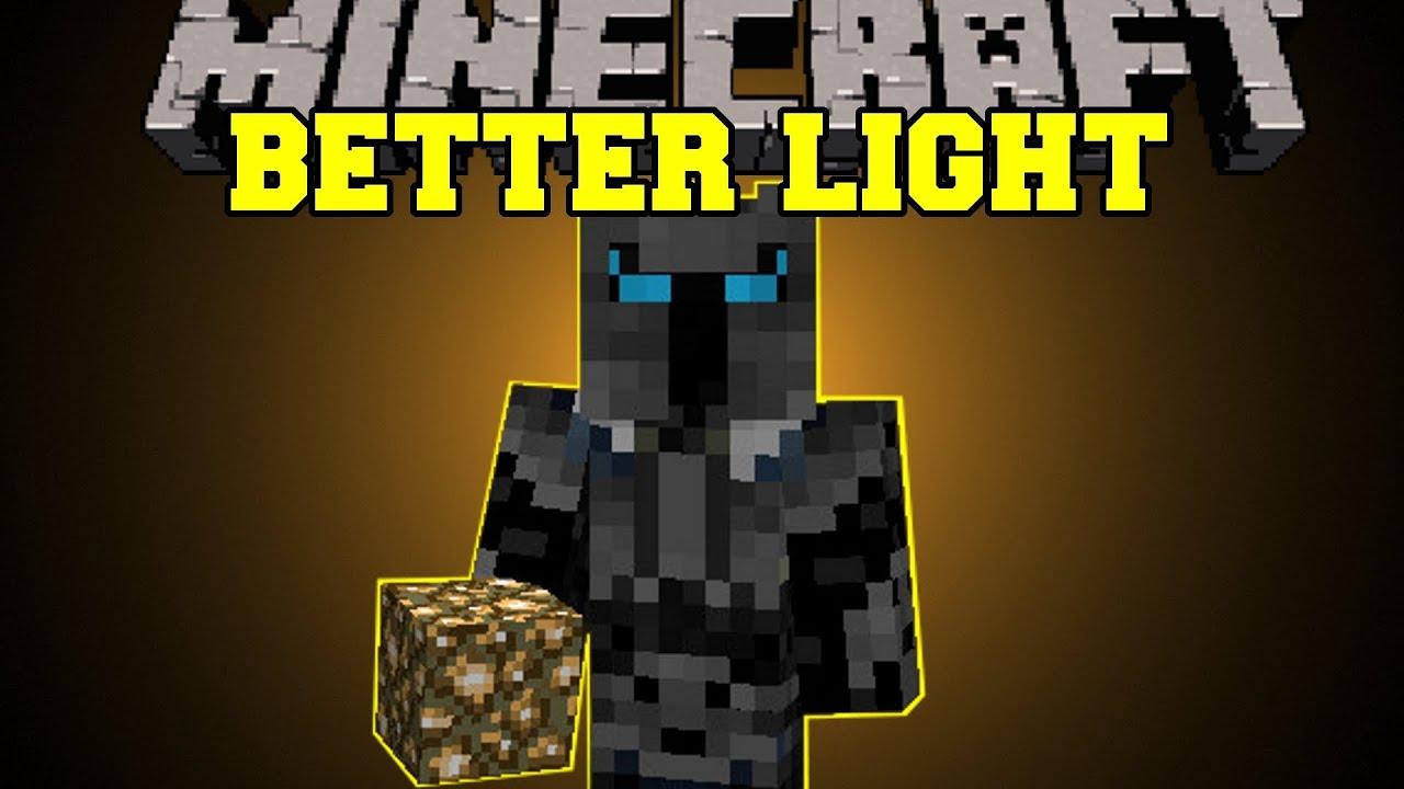 (MORE LIGHT SOURCES, BURN MOBS FOR LIGHT) Dynamic Lights Mod Showcase    YouTube