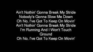 Matthew Wilder - Break my stride (lyrics)