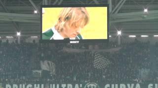 Lo Juventus Stadium ricorda l'Avvocato Gianni Agnelli