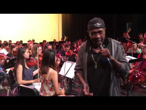 Ben Vereen Singing Defying Gravity (Wicked) with Westview High Orchestra